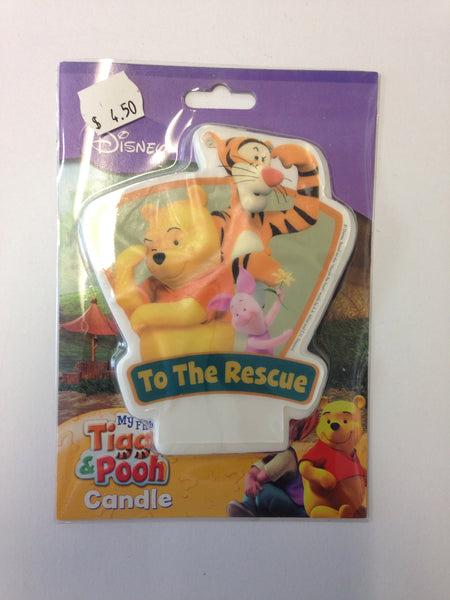 Winnie The Pooh To The Rescue Candle