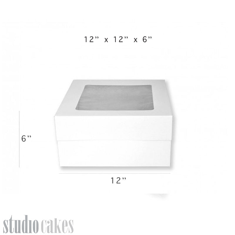 Cake Boxes with Window - 6