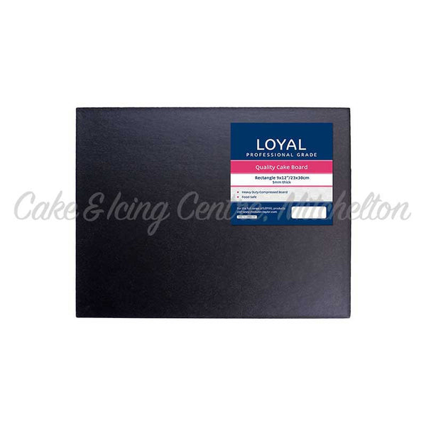 Presentation Boards - Black Rectangle