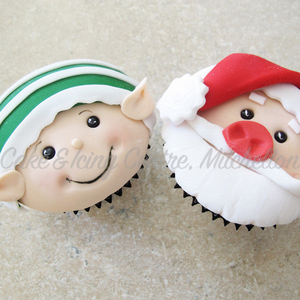 Novelty Christmas Cupcakes (Box of 12)