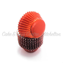 Foil Cupcake Wrappers - Mini Size (398)