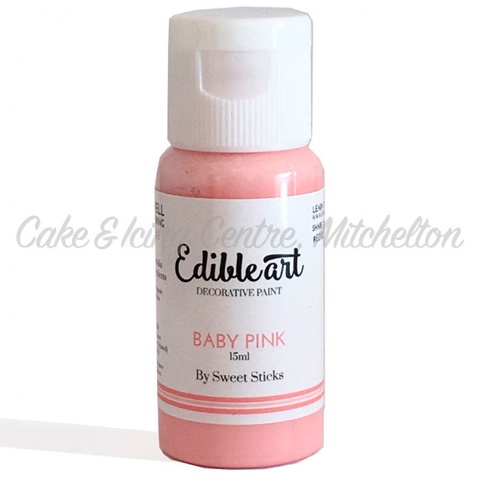Edible Art Paint - Baby Pink