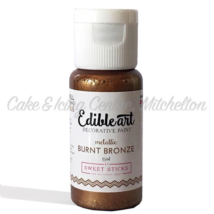 Edible Art Metallic Paint - Burnt Bronze