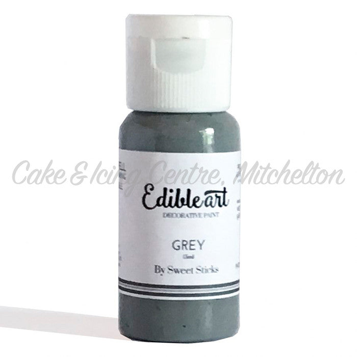 Edible Art Paint - Grey