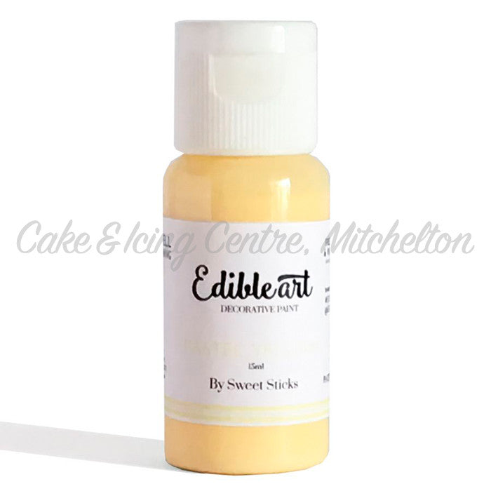 Edible Art Paint - Pastel Yellow