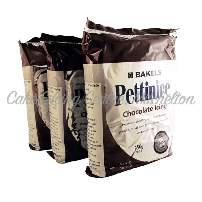 Bakels Pettinice Fondant - Chocolate 750g