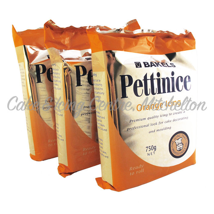 Bakels Pettinice Fondant - Orange 750g