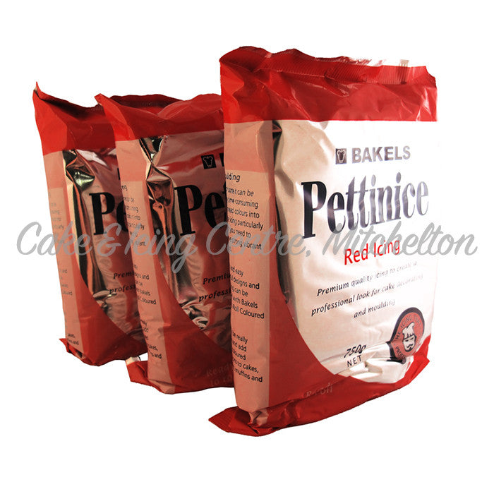 DISCOUNTED Bakels Pettinice Fondant - Red 750g