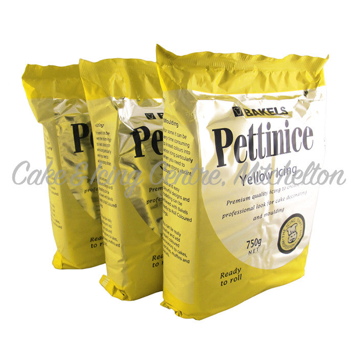 Bakels Pettinice Fondant - Yellow 750g