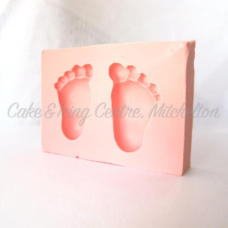 Silicone Mould - Feet 30mm