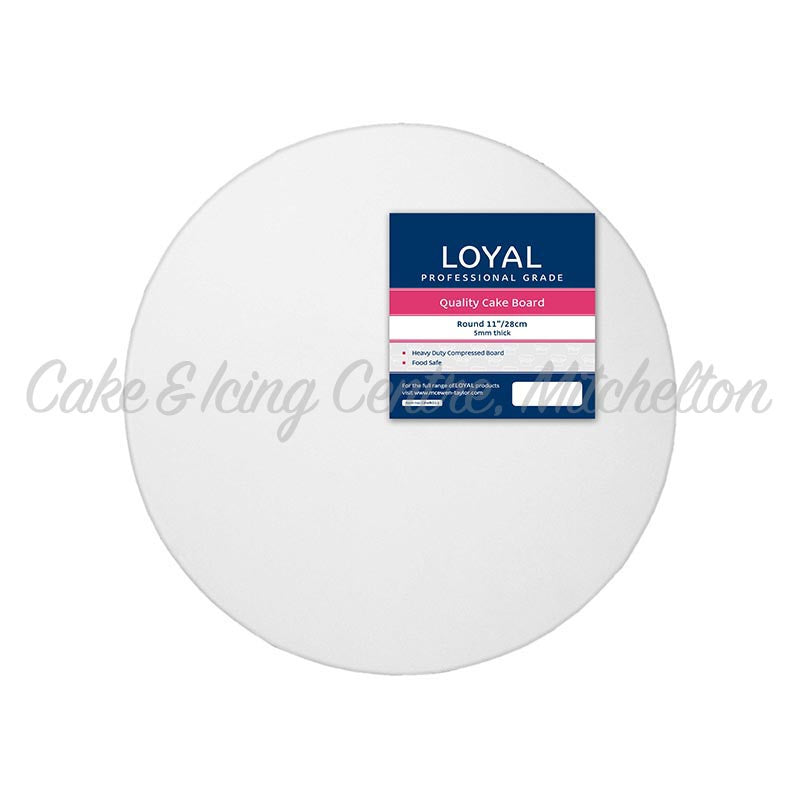 Presentation Boards - Round White