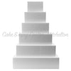 Foam Cake Dummies - Square Styrofoam 4'' Tall