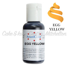 AmeriColor Soft Gel Paste - Egg Yellow
