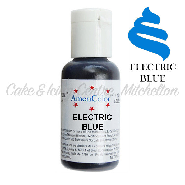 AmeriColor Soft Gel Paste - Electric Blue