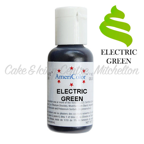 AmeriColor Soft Gel Paste - Electric Green