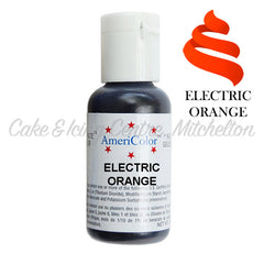 AmeriColor Soft Gel Paste - Electric Orange