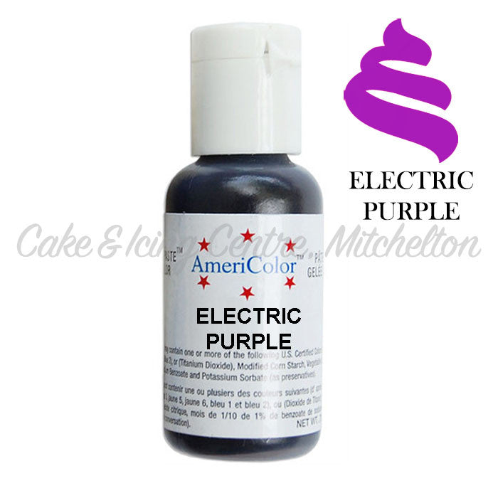 AmeriColor Soft Gel Paste - Electric Purple