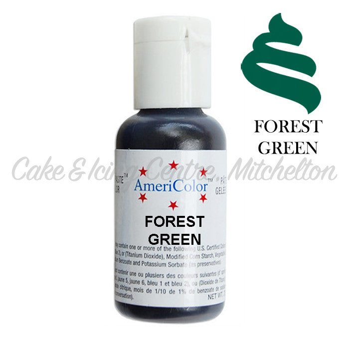 AmeriColor Soft Gel Paste - Forest Green