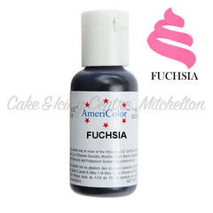 AmeriColor Soft Gel Paste - Fuchsia