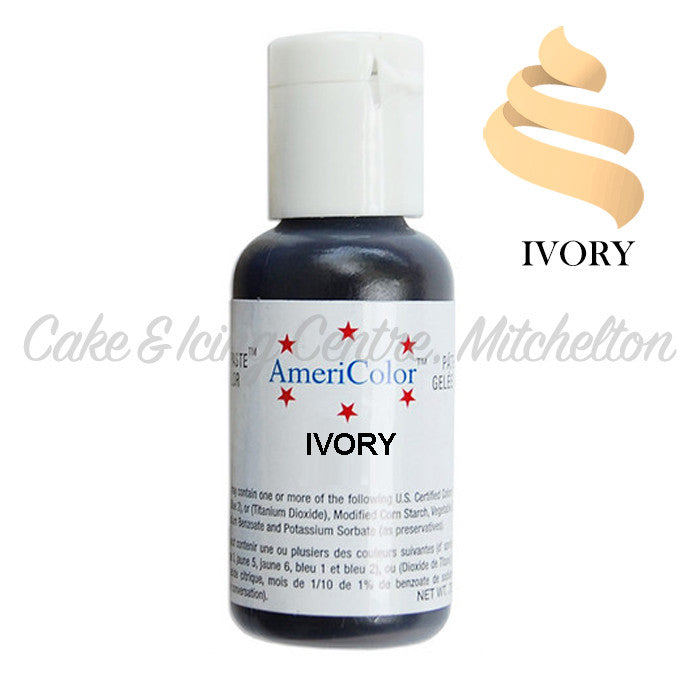 AmeriColor Soft Gel Paste - Ivory