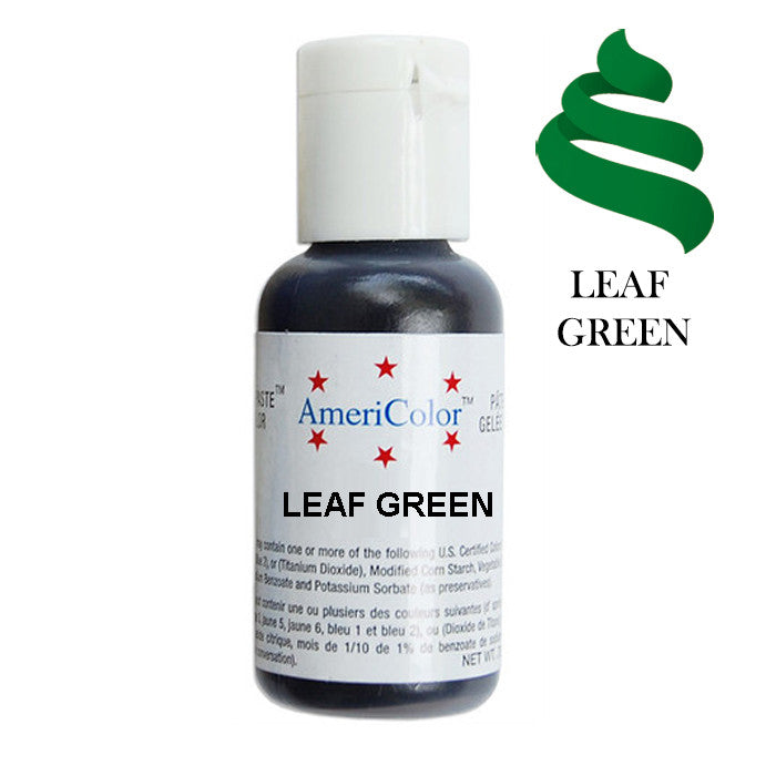 AmeriColor Soft Gel Paste - Leaf Green