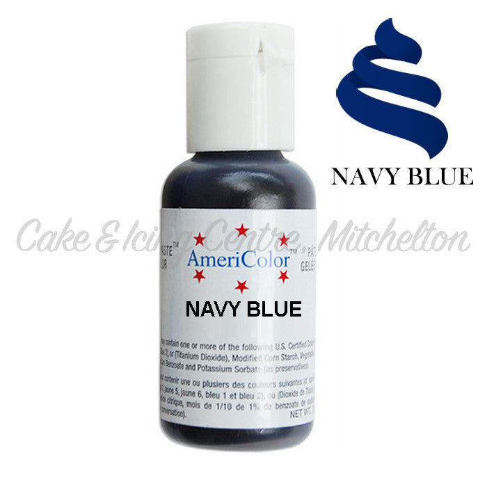 AmeriColor Soft Gel Paste - Navy Blue