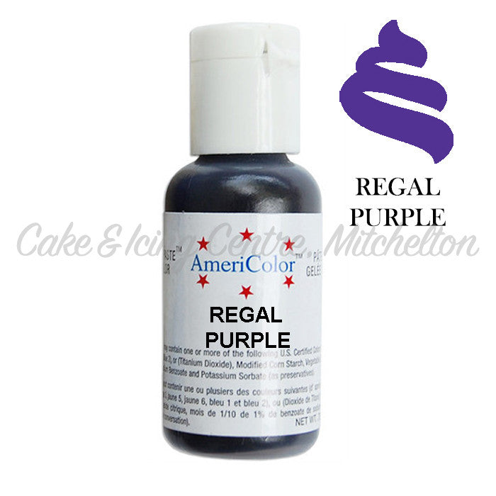 AmeriColor Soft Gel Paste - Regal Purple