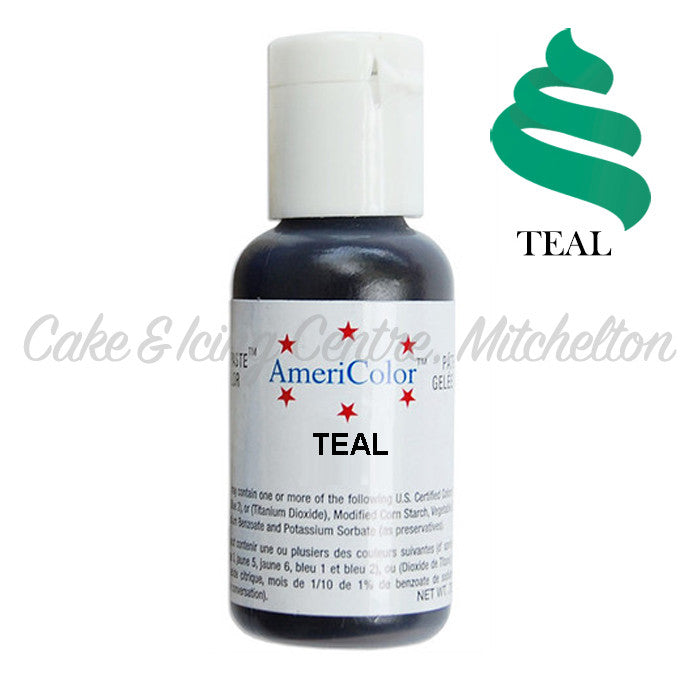 AmeriColor Soft Gel Paste - Teal