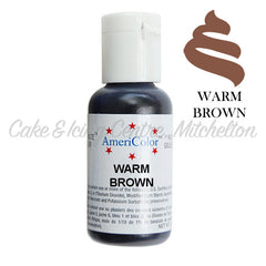 AmeriColor Soft Gel Paste - Warm Brown