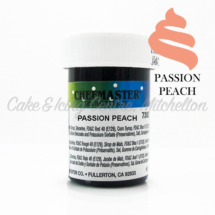 Chefmaster Gel Colour - Passion Peach