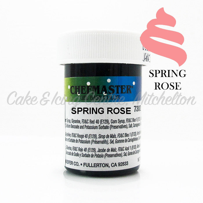 Chefmaster Gel Colour - Spring Rose (End of Line)