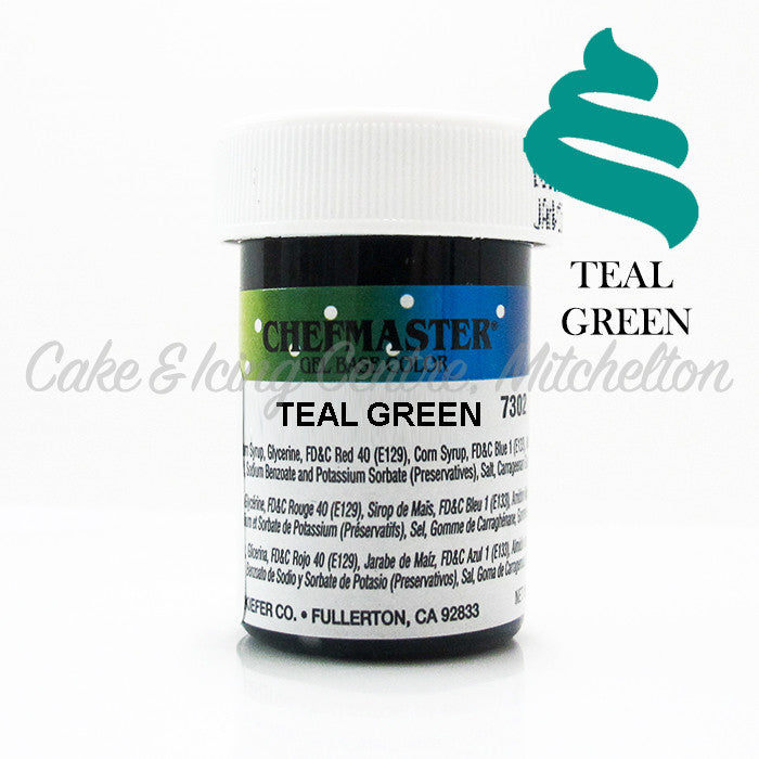 Chefmaster Gel Colour - Teal Green