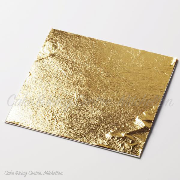 Edible Artisan Gold Deluxe Leaf Sheets (11cm)