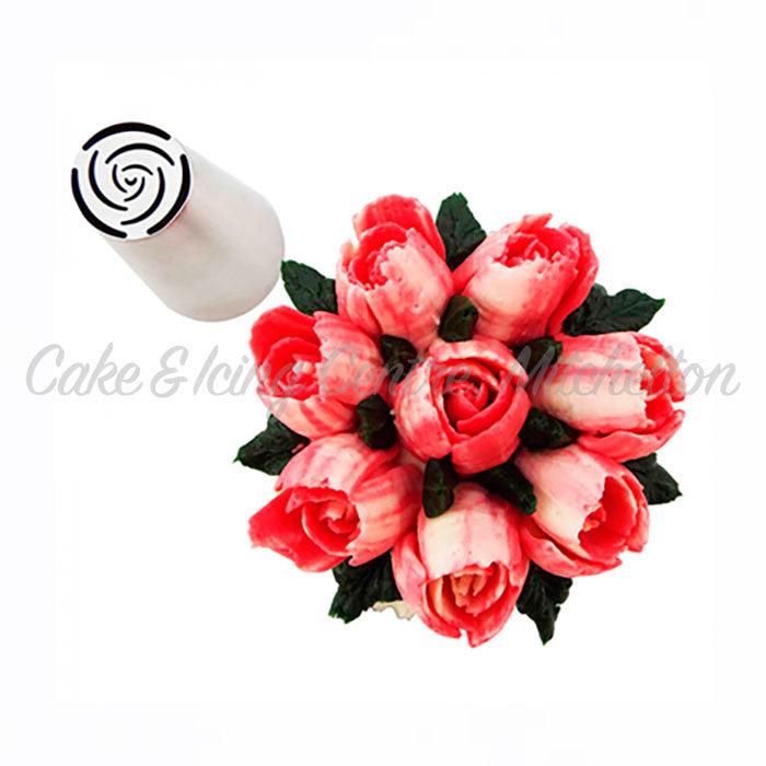 Specialty Icing Tips - 10 Petal Rose