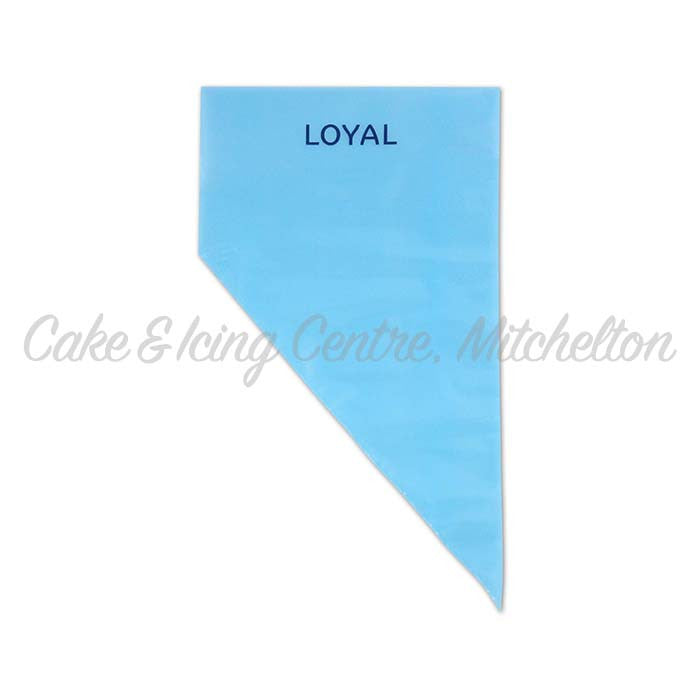 Blue Disposable Piping Bags 18inches/46cm (Single Bag)