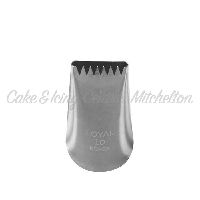 Stainless Steel Icing Nozzle - 1D Basketweave