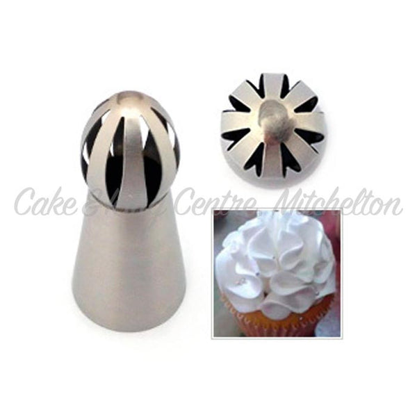 Specialty Icing Tip - Bulbous Ruffle