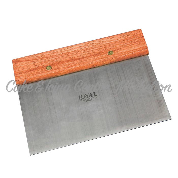 Scraper - Stainless steel with wood handle