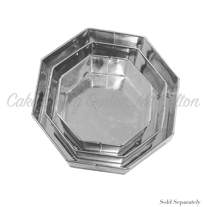 Octagonal Shaped Cake Tins