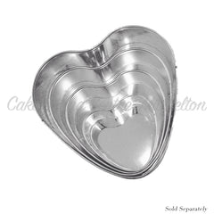 Traditional Heart Shaped Cake Tins