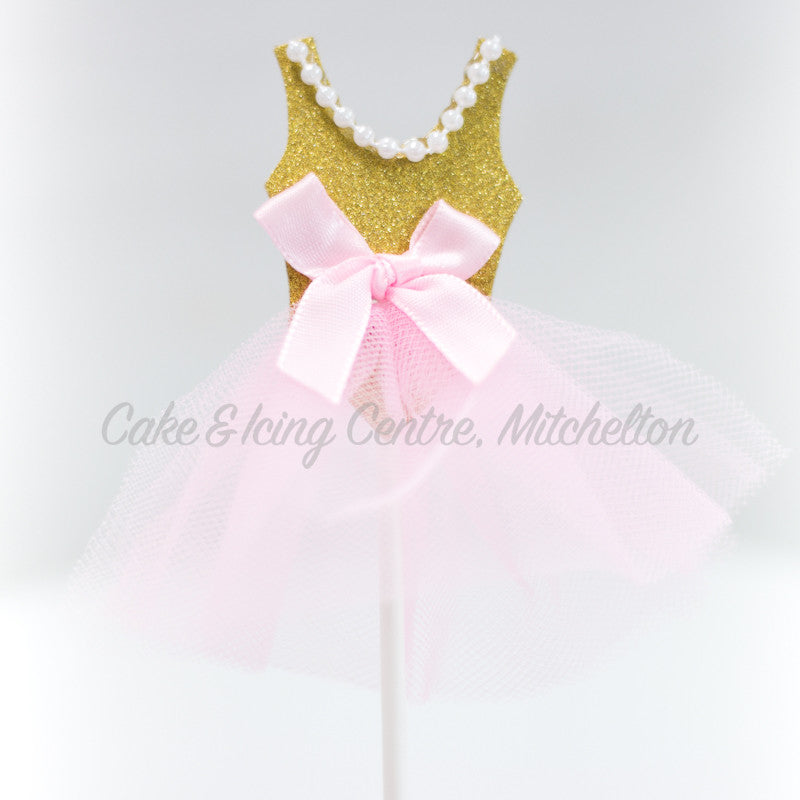 Cupcake Toppers - Princess Dress