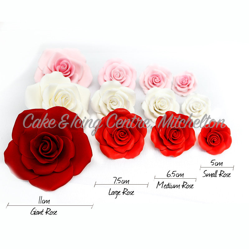Wired Sugar Roses - Medium