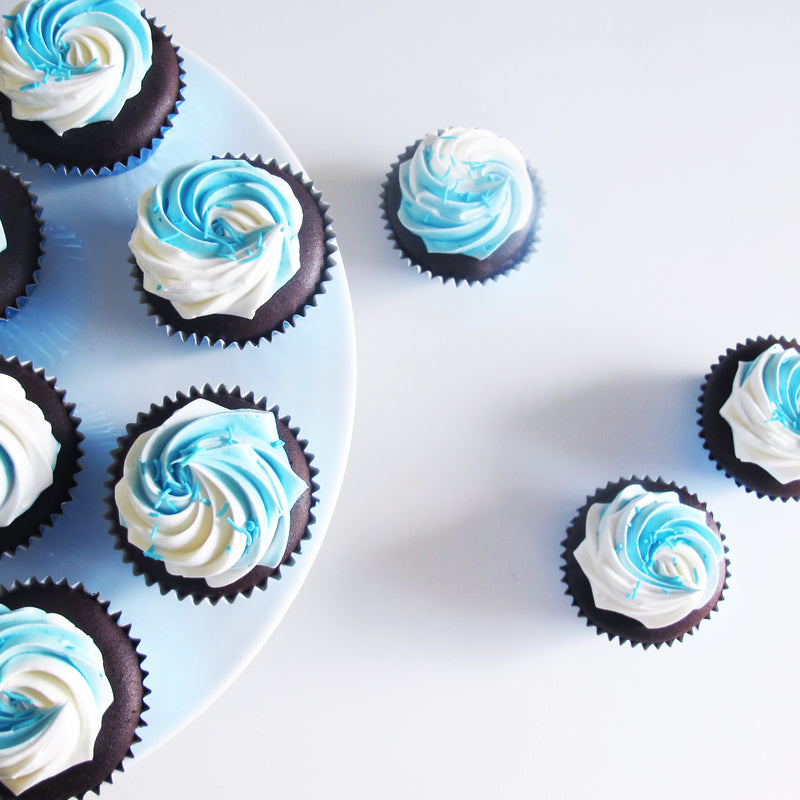 Don't Be Blue - Cupcake Care Packages
