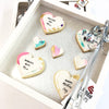 CookieGram - Custom Heart Message Box