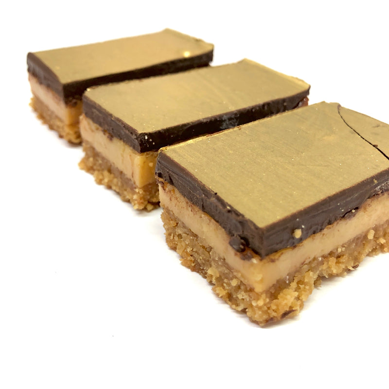 Dessert Box - Chocolate & Caramel Slice