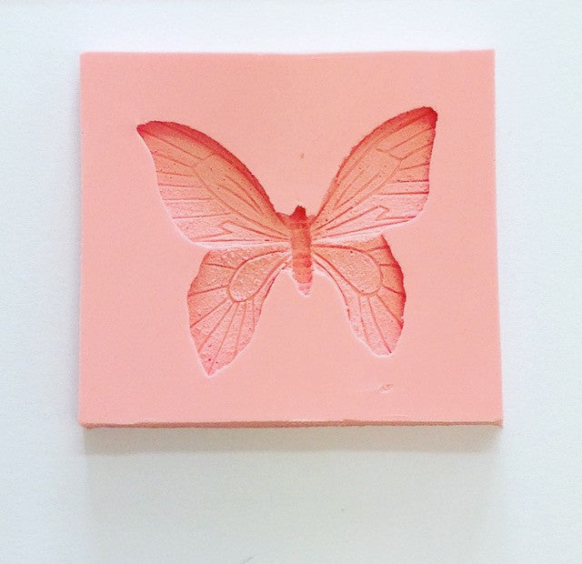 Silicone Mould - Butterfly 65mm