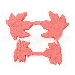 Silicone Mould - Maple Leaf Veiner