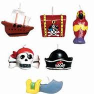 Pirate Candle Set
