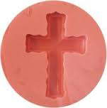 Silicone Mould - Rugged Cross