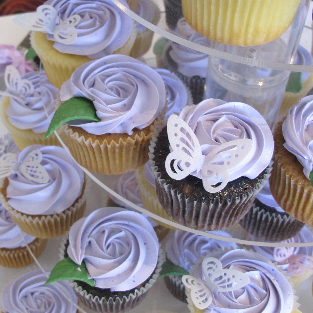 Decorate & Sip ~ June 2020 ~ Cupcakes & Flowers